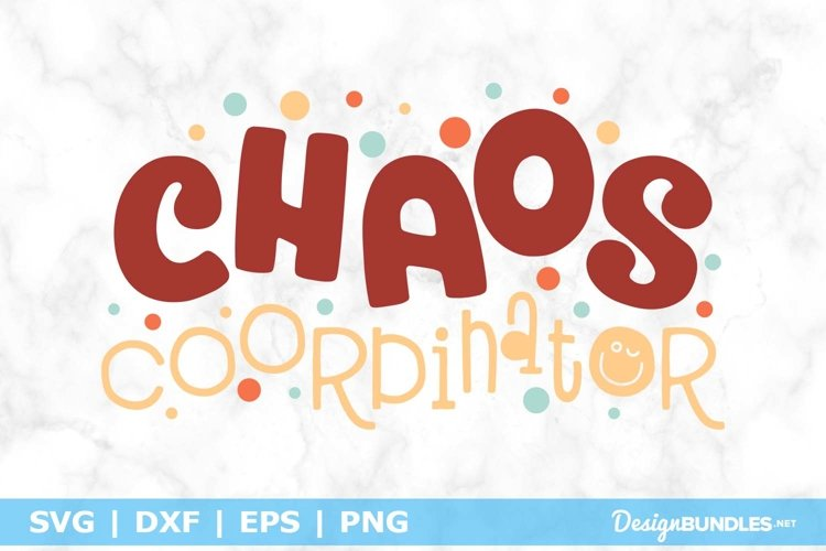 Chaos Coordinator SVG File