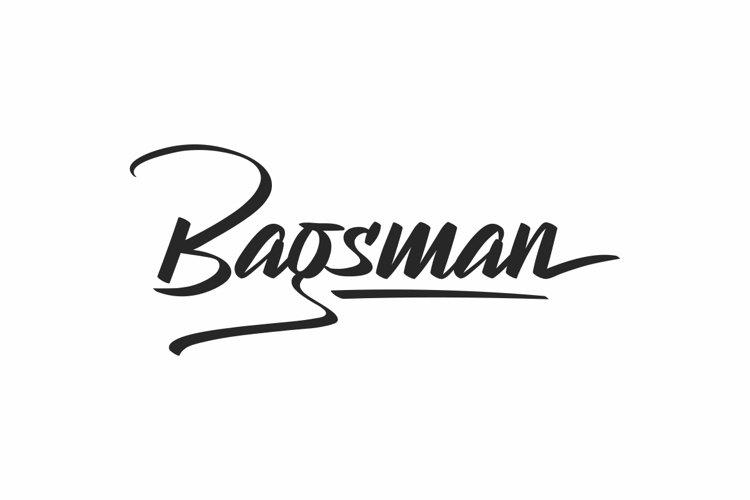 Bagsman example image 1