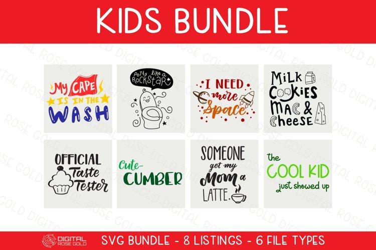 Kids Bundle - SVG BUNDLE - Childrens SVG Fun Digital Designs
