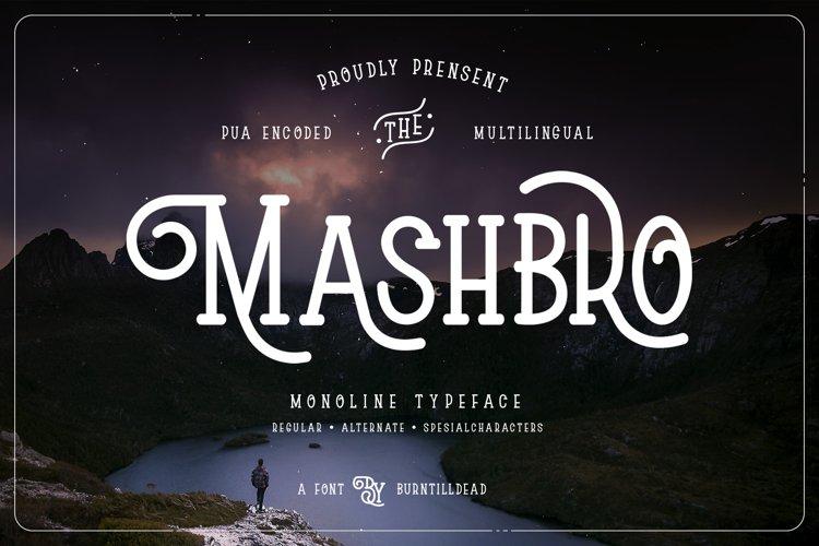 Mashbro example image 1
