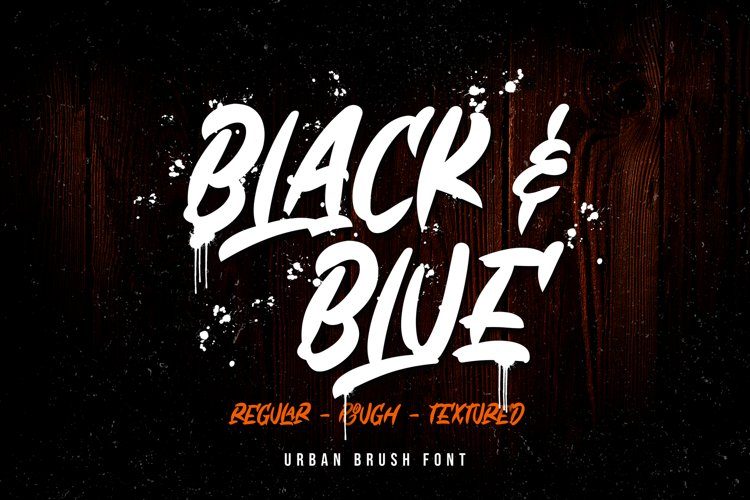 Black & Blue example image 1