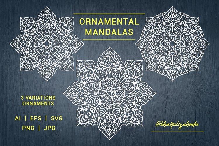 Mandalas Ornamental example image 1