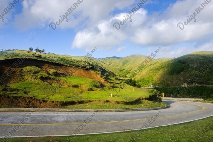 Stock Photo - Mountain Road example image 1