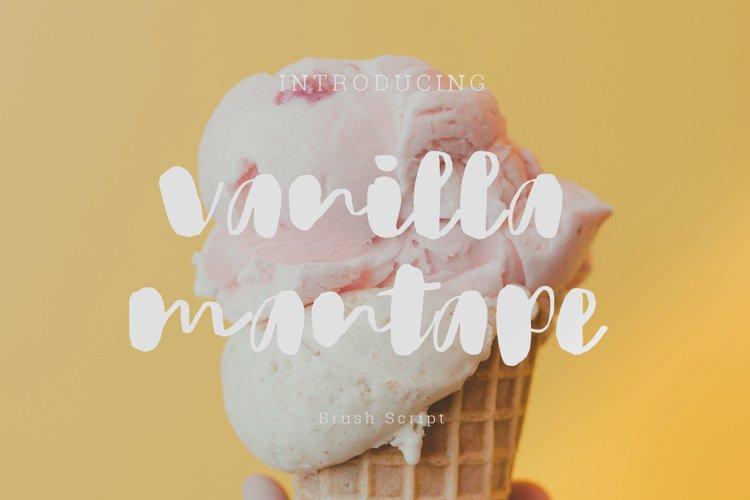 Vanilla Mantape brush Script example image 1