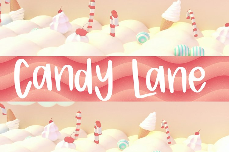 Candy Lane Font example image 1