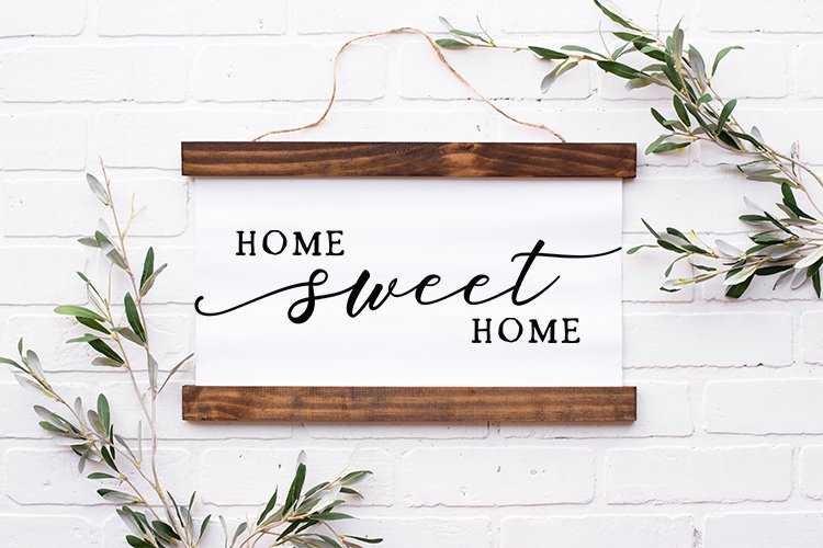 Home sweet home - Farmhouse Home sign svg