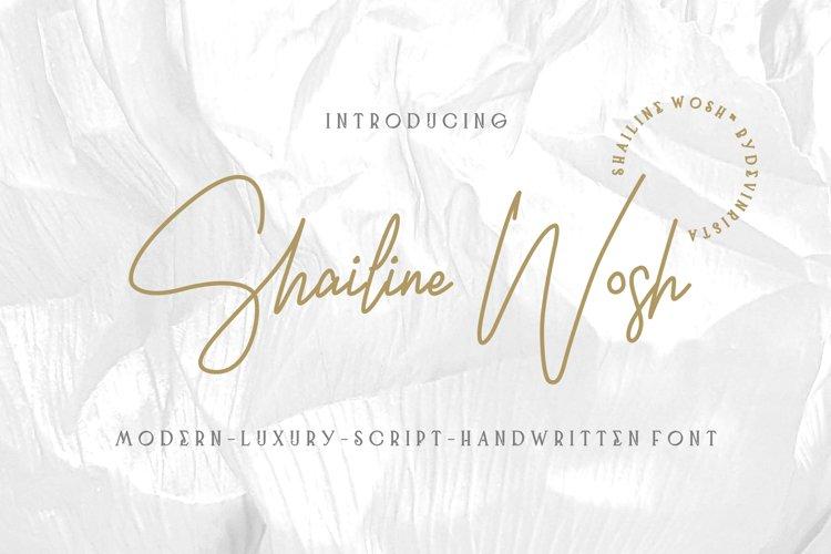 Shailine Wosh