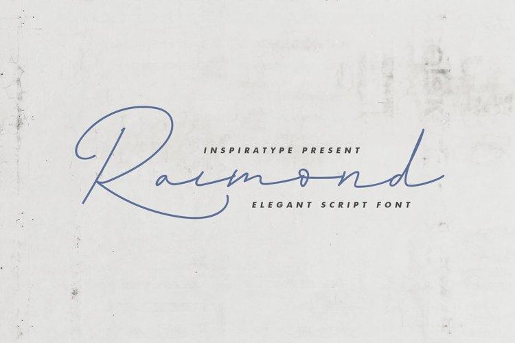 Raimond - Elegant Script example image 1