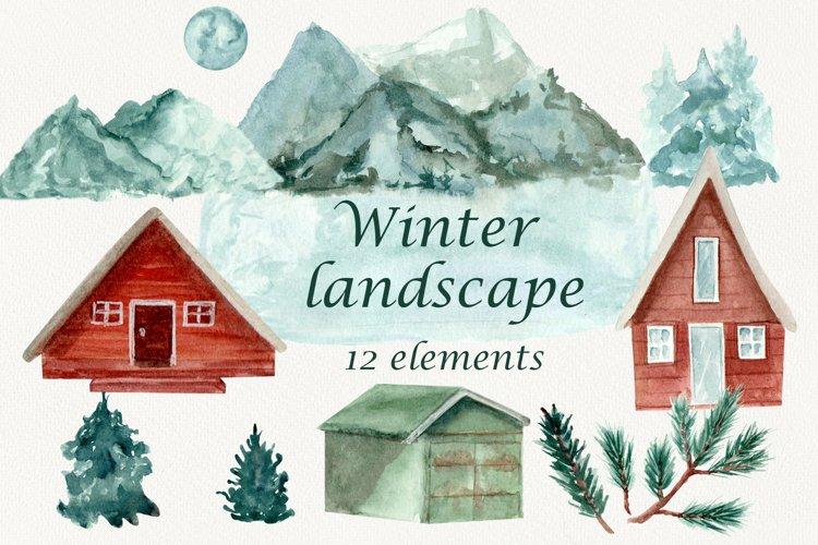 Landscape clipart