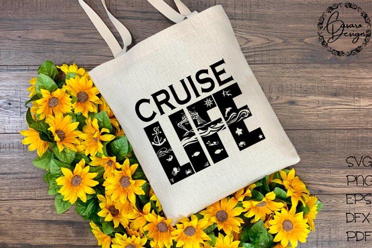 Cruise Life Design, SVG, PNG, ETC