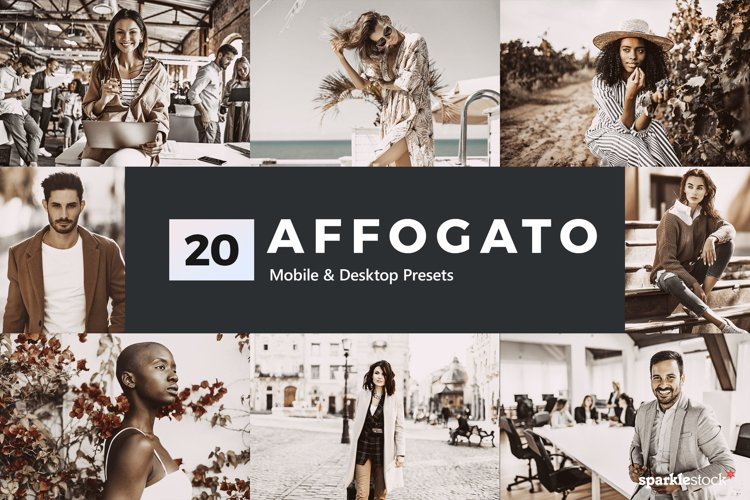 20 Affogato Lightroom Presets & LUTs example image 1