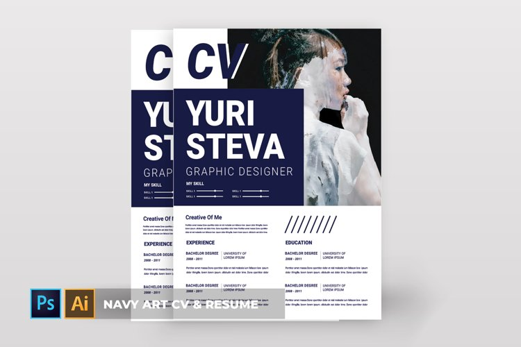 Navy Art | CV & Resume example image 1