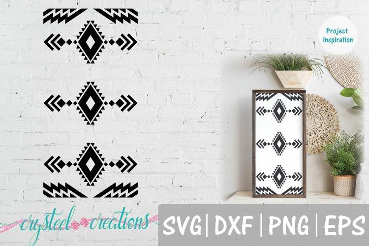 Boho 12x24 SVG, DXF, PNG, EPS