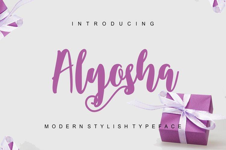 Alyosha example image 1