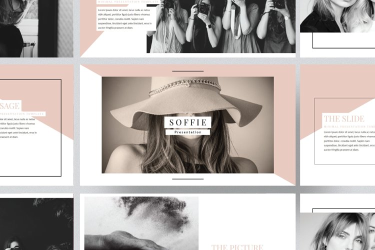 Soffie Powerpoint Template example image 1