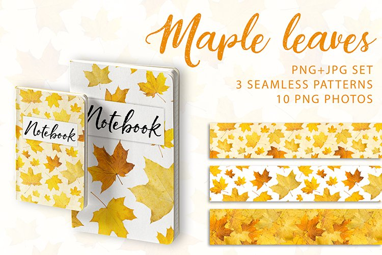 Maple leaves. JPG PNG. example image 1