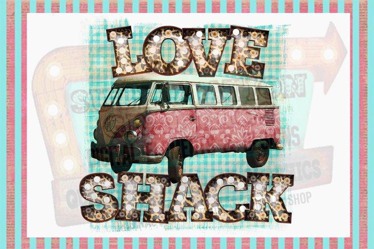 Love Shack Sublimation Digital Download example image 1