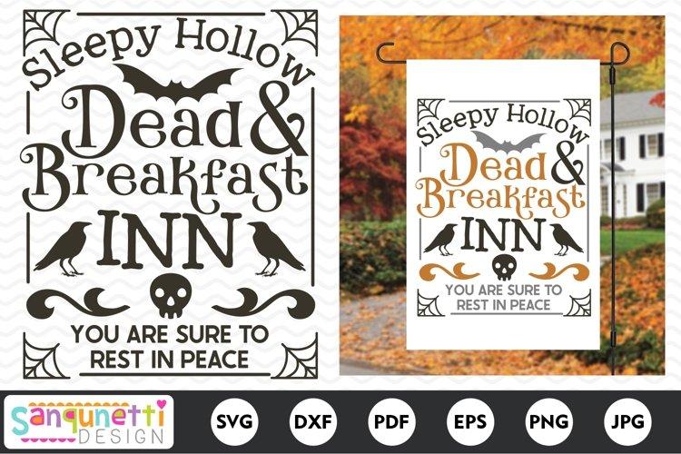 Dead & Breakfast Inn Halloween SVG