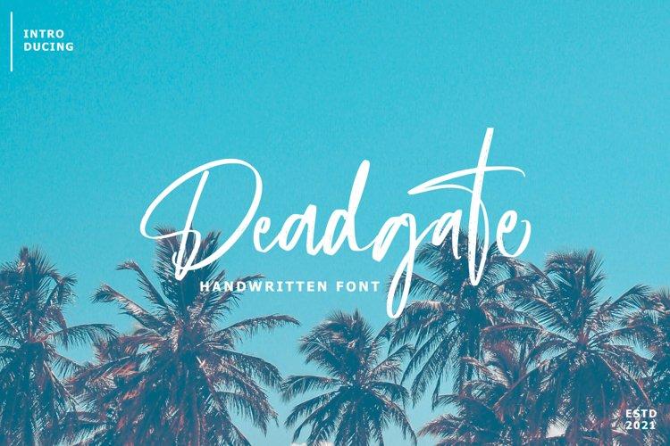 Deadgate Brush example image 1