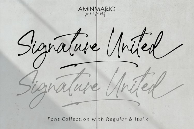 Signature United example image 1