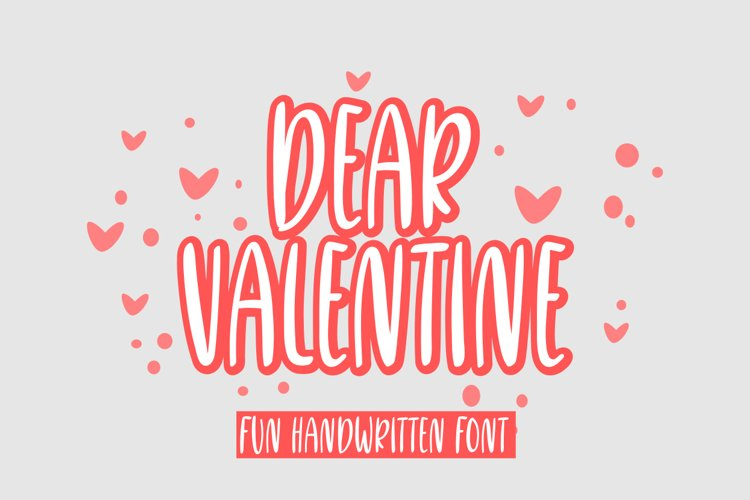 dear valentine example image 1