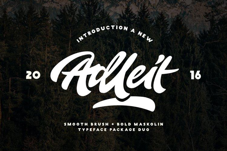 Adleit Script example image 1