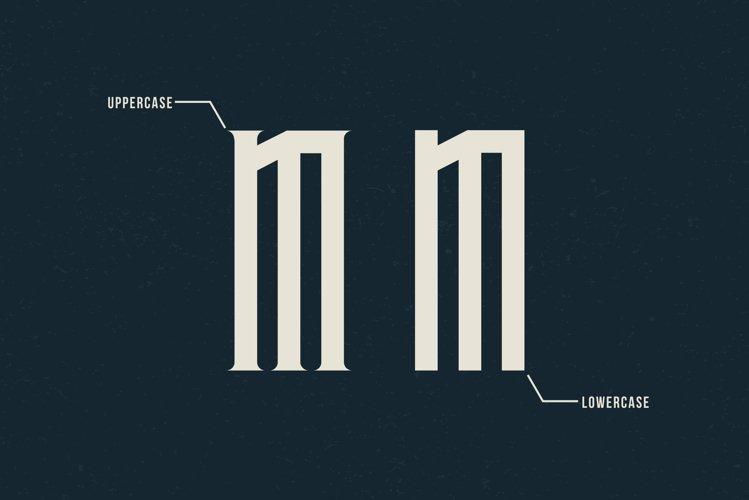 Avriella Display Font example 7