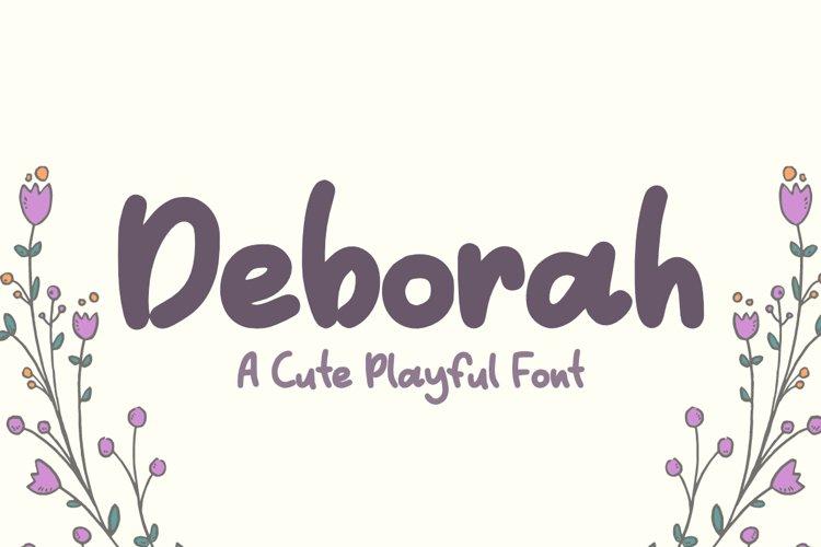 Deborah example image 1