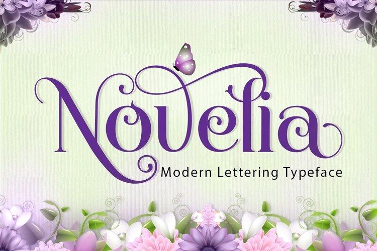 Novelia Typeface example image 1