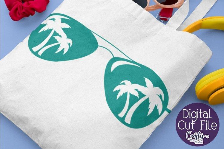 Sunglasses, Palm Tree Svg, Palm Tree Sunglasses Svg, Summer
