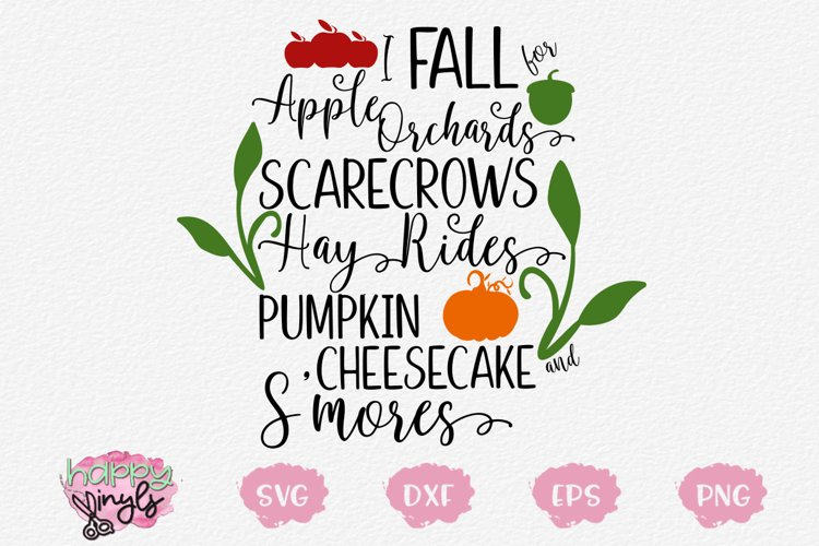 I Fall for Apple Orchards and More - A Fall SVG