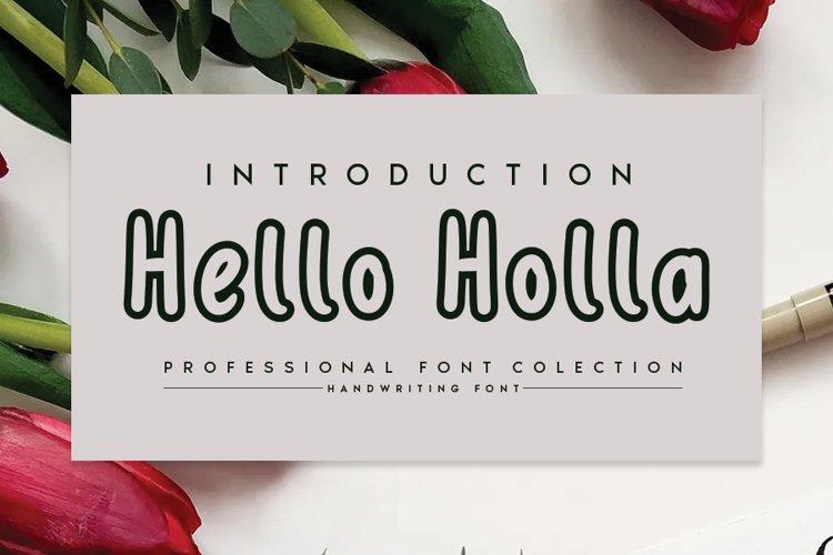 Hello Holla example image 1