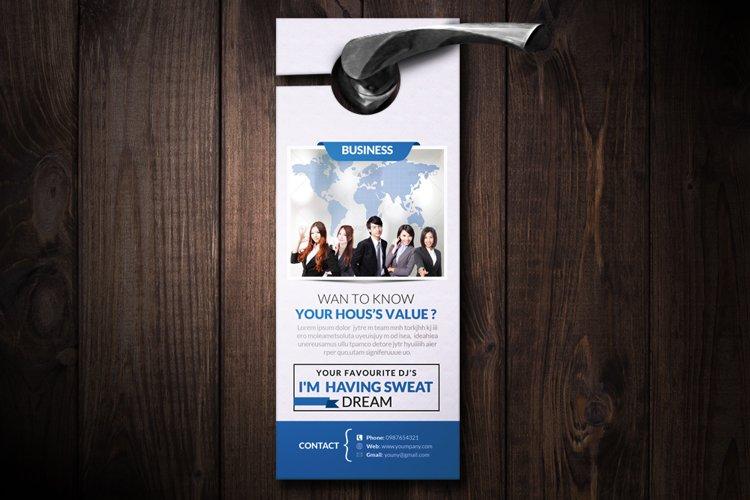 Employment Business Door Hangers example image 1
