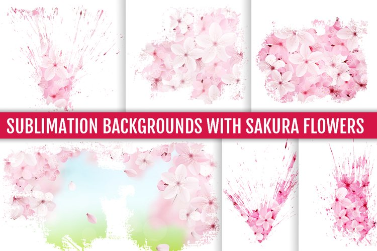 Sublimation backgrounds, sublimation flowers example image 1