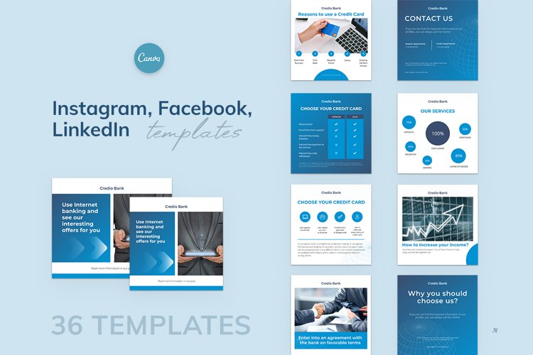 Canva Templates for accountants, bookkeepers, Finance area
