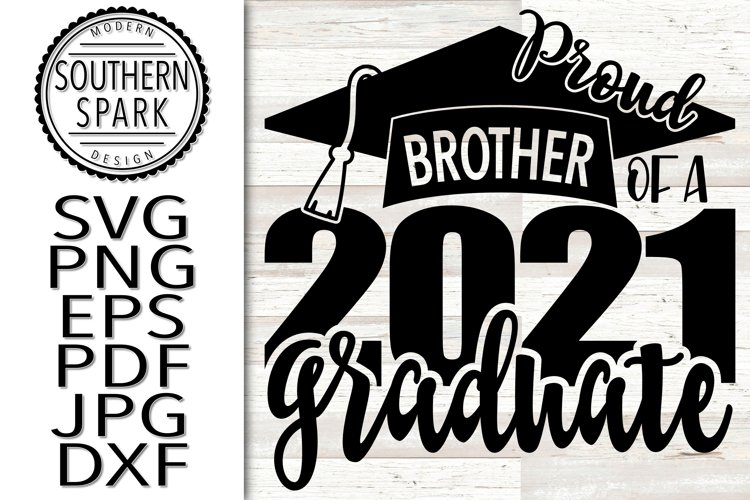 Proud Brother Of A 2021 Graduate example image 1
