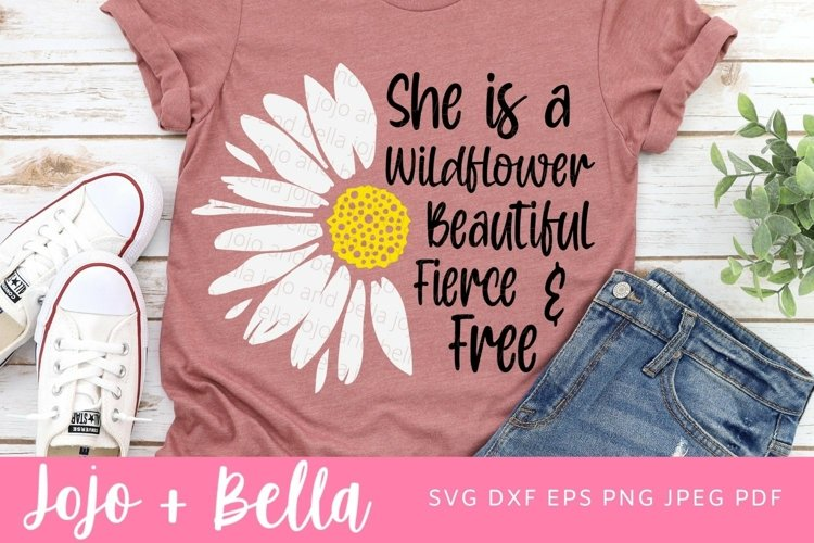 Daisy Svg| Wildflower Png