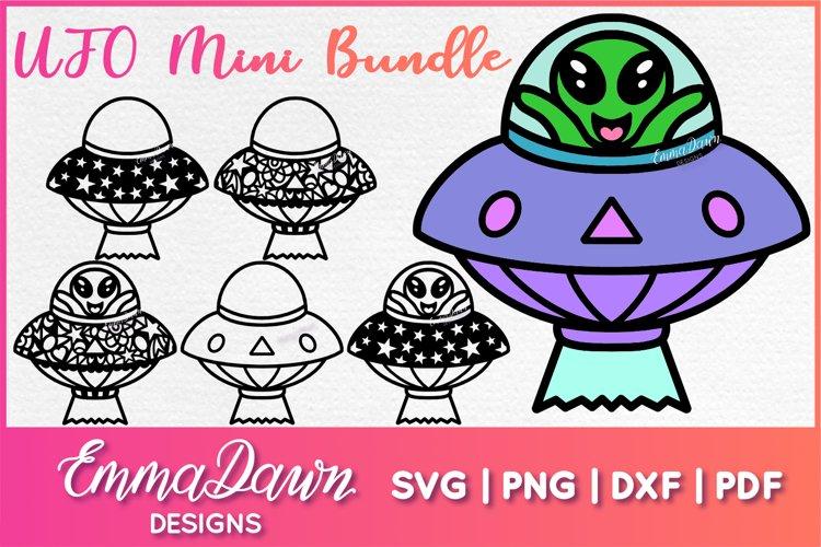 UFO MINI BUNDLE SVG 6 Mandala / Zentangle Designs