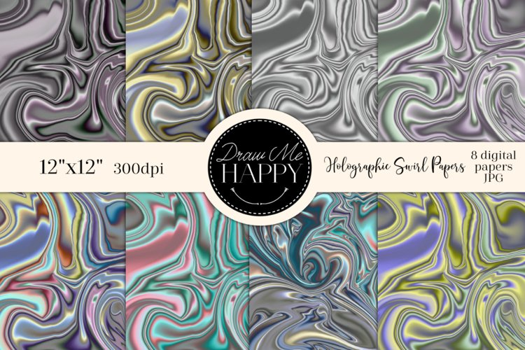 Holographic Digital Papers, Holographic Sublimation, metal