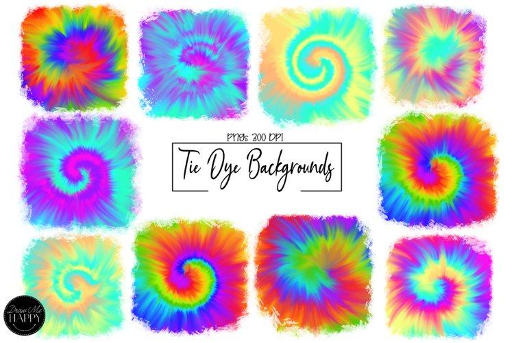TIE DYE SUBLIMATION, TIE DYE BACKGROUNDS, Faux Tie Dye