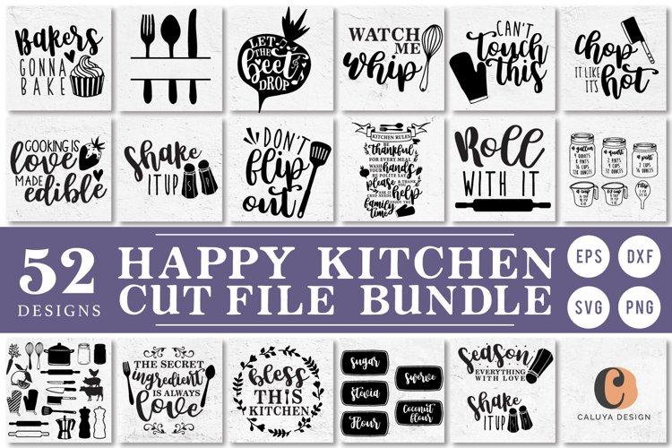 Happy Kitchen SVG Cut File Bundle