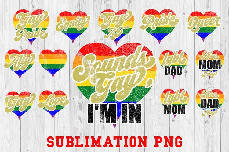 Pride LGBT Sublimation Bundle