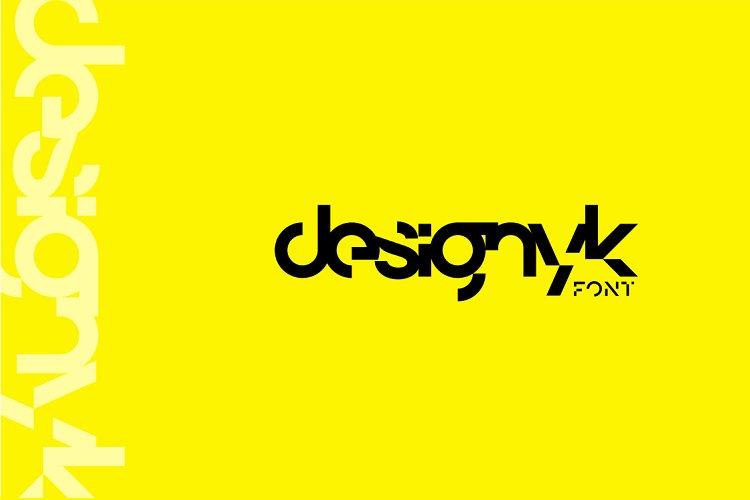 designyk FONT example image 1