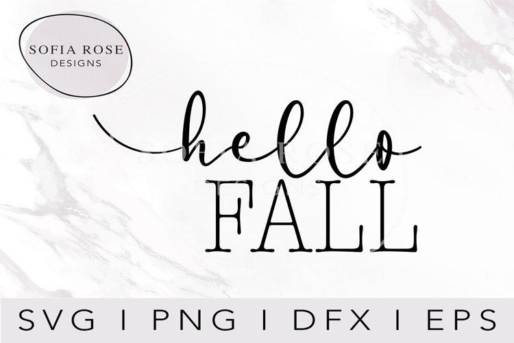 hello FALL SVG-FALL SVG-Hello SVG-Seasons SVG-Clip Art example image 1