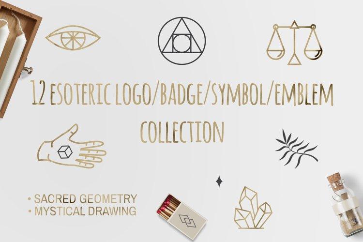 12 Esoteric Logo/Badge/Symbol