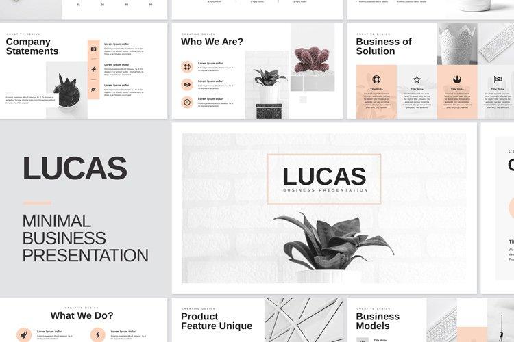 Minimal Business Keynote Presentation Template