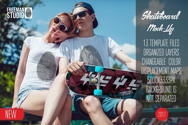 Skateboard Mock-Up Vol.2 2017 example image 1