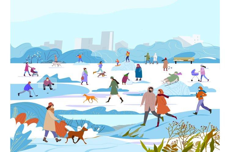 Wintero utdoor activity. example image 1