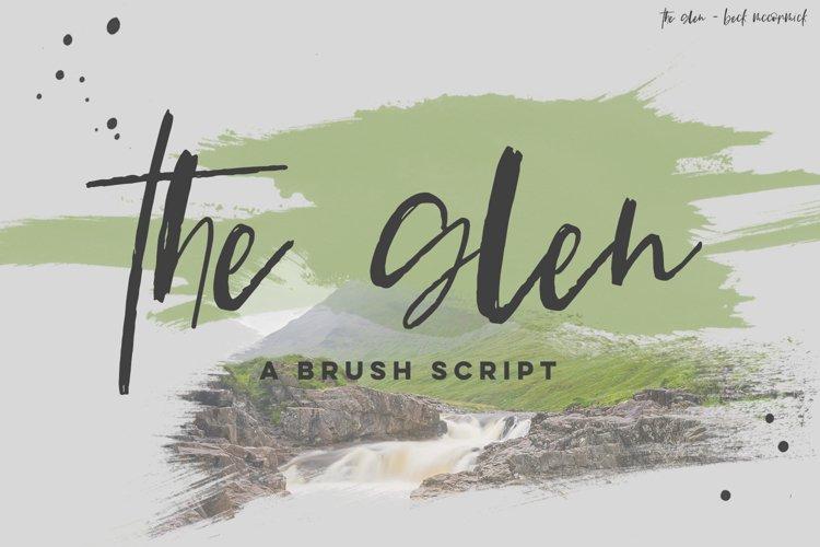 The Glen Brush Script