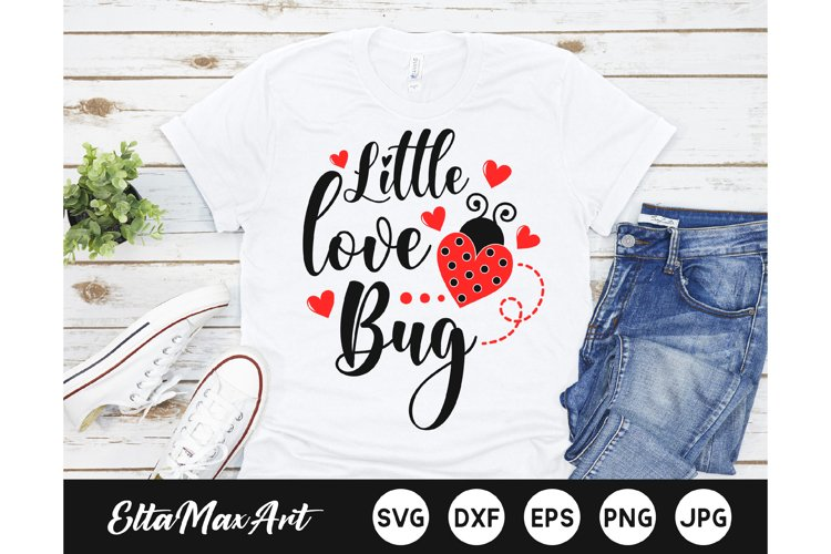 Little love bug SVG, Valentine SVG, Valentines SVG Cut File